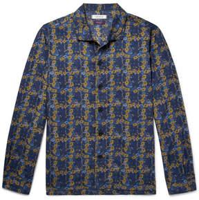 Nonnative + Liberty Camp-Collar Floral-Print Cotton-Blend Shirt