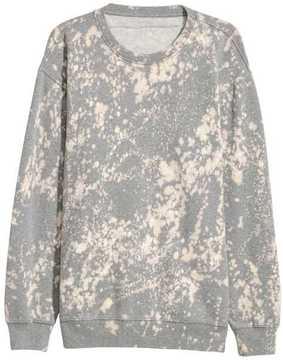 H&M Bleached Sweatshirt