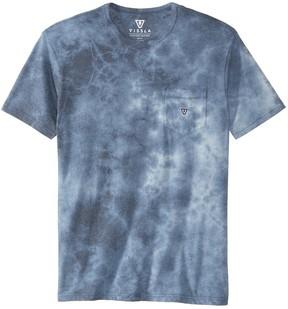 VISSLA Men's Calipher Broidery Tie Dye Short Sleeve Tee 8163100
