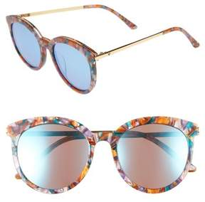 Gentle Monster Women's Vanilla Road 54Mm Rounded Sunglasses - Red/ Gold