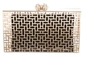 Charlotte Olympia Lattice Pandora Clutch