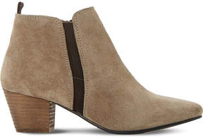Dune Perdy suede ankle boots
