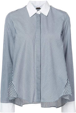ADAM by Adam Lippes striped cotton trapeze shirt