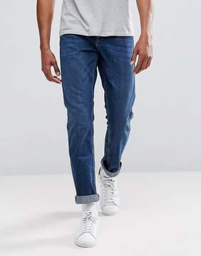 Jack Wills Kirkham Slim Jeans In Mid Wash