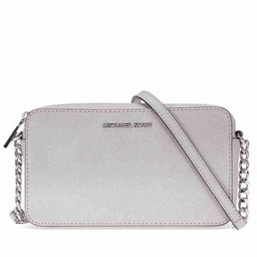 Michael Kors Jet Set Travel Medium Crossbody - Pearl Grey - ONE COLOR - STYLE