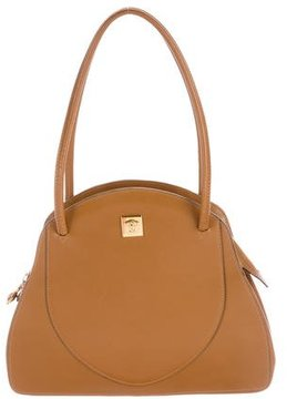 Gianni Versace Leather Handle Bag