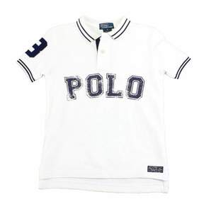 Polo Ralph Lauren Boy's 1/25 Classics White Cotton Polo T-Shirt Sz. 5