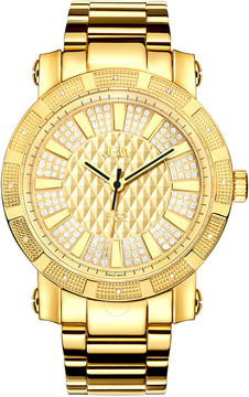 JBW 562 Diamond Gold-tone Dial Gold-plated Stainless Steel Men's Watch