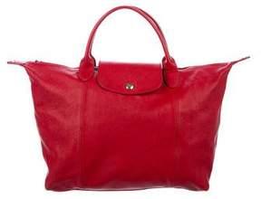 Longchamp Small Le Pliage Cuir Bag