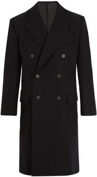 Balenciaga Notch-lapel double-breasted wool coat