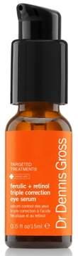Dr. Dennis Gross Skincare Ferulic + Retinol Serum Triple Correction Eye Serum