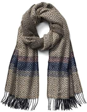 Gap Cozy geometric scarf