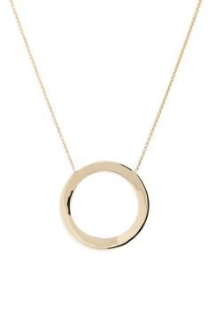 Bony Levy Women's Geo Circle Pendant Necklace (Nordstrom Exclusive)