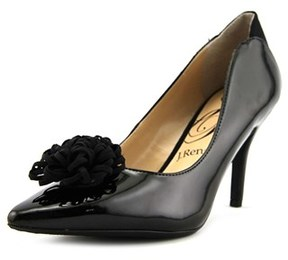 J. Renee Radimka Women Pointed Toe Synthetic Black Heels.