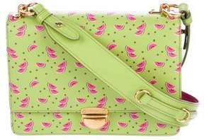Prada 2017 Watermelon Saffiano Flap Bag