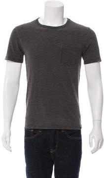 Faherty Mélange Crew Neck T-Shirt