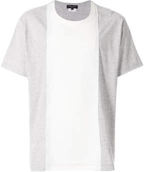 Comme des Garcons two-tone panelled T-shirt