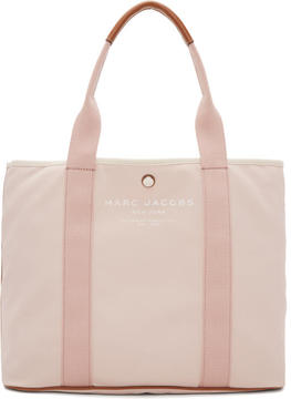 Marc Jacobs Pink East-West Tote - PINK - STYLE