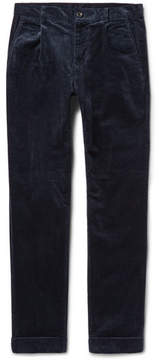 Beams Cotton-Blend Corduroy Trousers