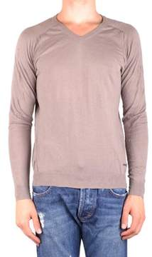 CNC Costume National Men's Brown Cotton Sweatshirt.