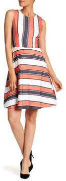 BOSS Himelly Stripe Dress