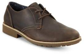Original Penguin Lugger Leather Lace-Up Oxfords