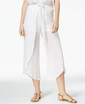 BCX Juniors' Cropped Wrap Pants