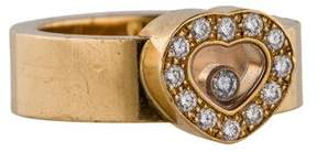 Chopard 18K Happy Diamond Ring