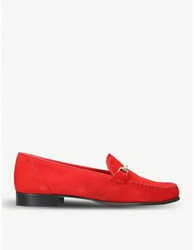 Carvela Mariner suede loafers