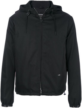 Emporio Armani zipped hooded jacket