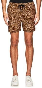 Ksubi MEN'S PRINCE COTTON-BLEND SWIM TRUNKS