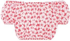 Lisa Marie Fernandez Leandra embroidered cotton top