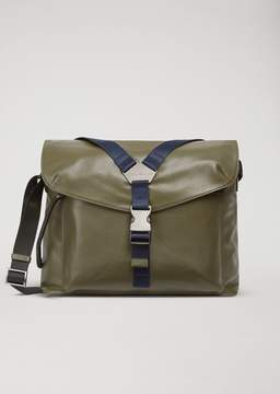 Emporio Armani Nappa Messenger Bag