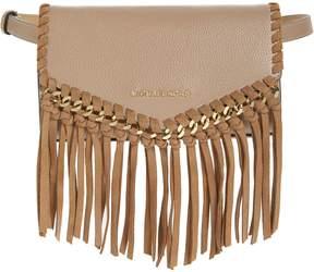 MICHAEL Michael Kors Fringe Leather Belt Bag