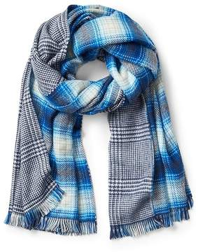Gap Cozy oversized plaid scarf