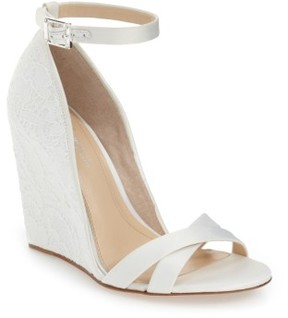 Imagine by Vince Camuto Women's Imagine Vince Camuto 'Imagine - Lilo' Lace Wedge Sandal