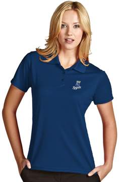 Antigua Women's Kansas City Royals Exceed Desert Dry Xtra-Lite Performance Polo
