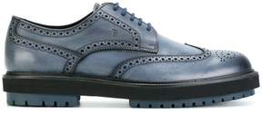 Tod's thick sole brogues