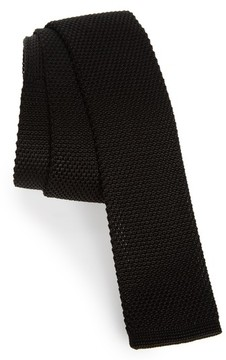BOSS Men's Solid Knit Silk Tie