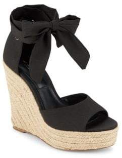 Michael Kors Embry Ankle Wrap Wedge Sandals