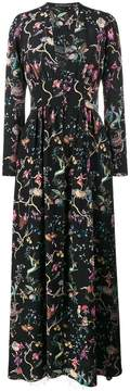 Etro fantastic print long dress
