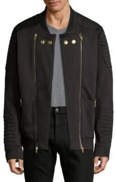 Pierre Balmain Full-Zip Bomber Jacket