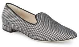 Giorgio Armani Two-Tone Print Loafers