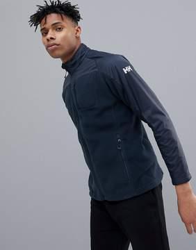 Helly Hansen Storm Fleece Mid Layer Jacket In Navy