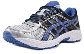Asics Gel-contend 4 Gs Youth W Round Toe Synthetic Blue Running Shoe.