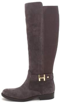 Tommy Hilfiger Womens Suprem Leather Closed Toe Knee High Multi