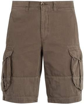 Incotex Mid-rise regular-fit cargo shorts