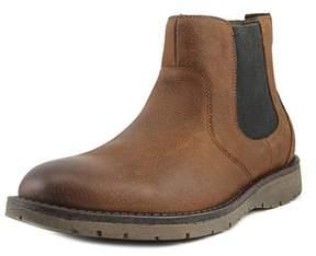 Dockers Sawtelle Men Round Toe Leather Brown Bootie.