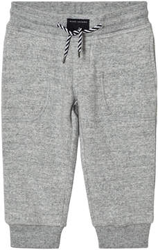 Little Marc Jacobs Grey Branded Sweat Pants