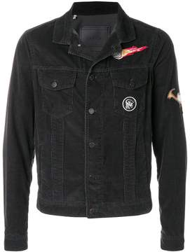 Lanvin corduroy patch jacket